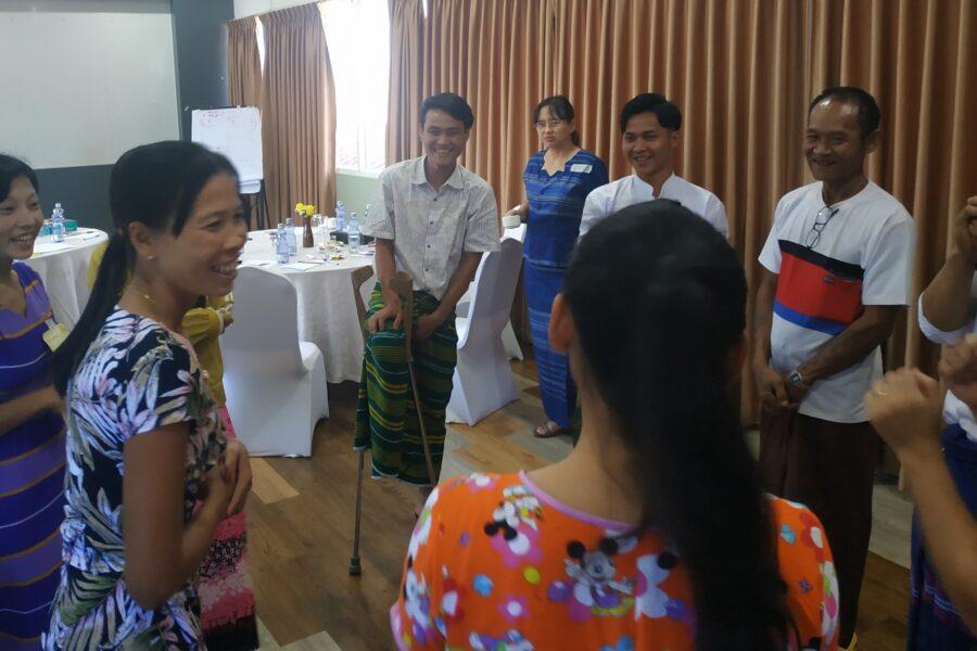 Myanmar baseline training