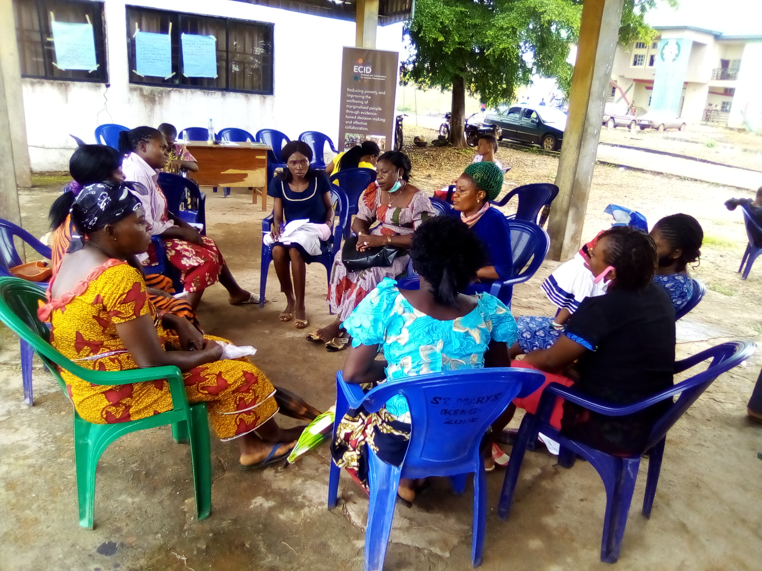 Issue identification with rural women